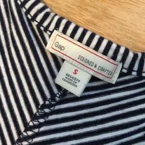 GAP Dresses - The GAP navy striped maxi dress.